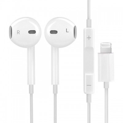 Earphone Bluetooth with microphone Wired Stereo Earphones for Apple iPhone Wired Earphone Lightning