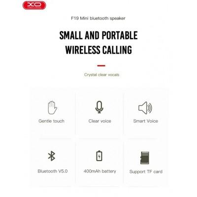 XO F19 Bluetooth Portable Speaker Black