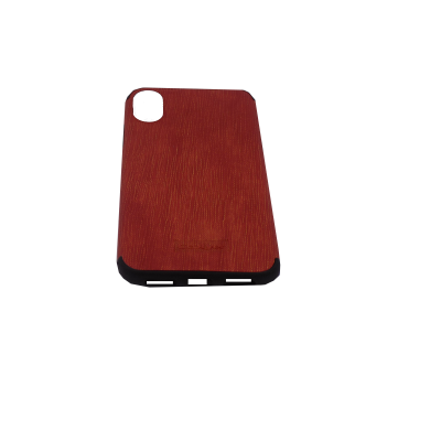 Iphone X/Xs Hard Silicone Cover Βrown