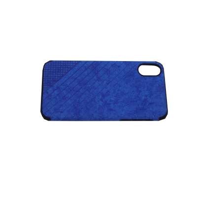 Iphone X/Xs Hard Silicone Cover Blue