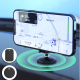 Dudao self-adhesive Universal Magnetic Car Mount Phone Holder for Dashboard black (F11)